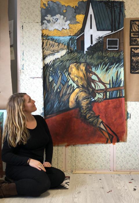 PaulineBeugniot artiste