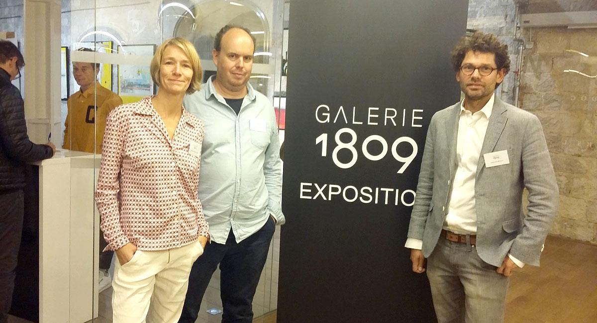 l'équipe de galerie1809