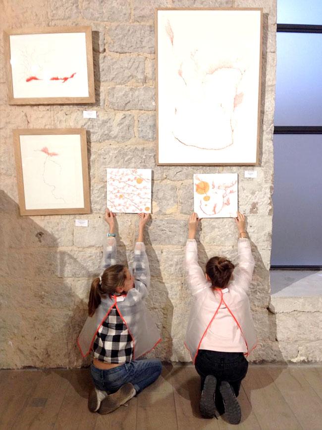 ateliers artistiques gratuits pour enfants