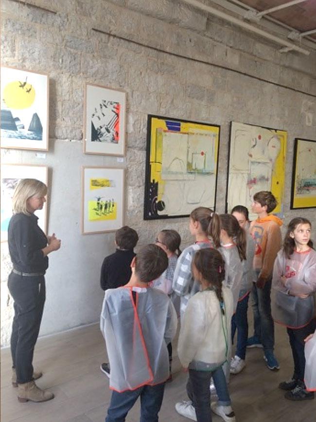 animations artistiques auprès des enfants