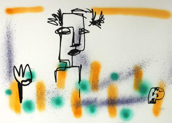 Tim Frager artiste serigraphie
