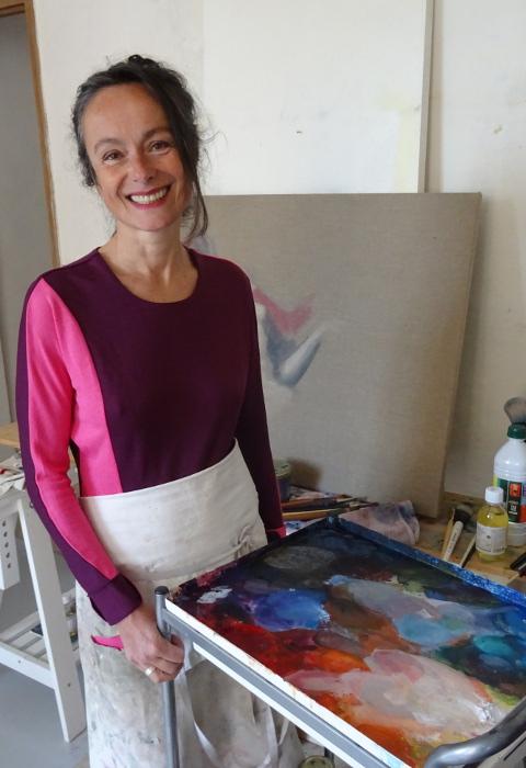 AgnesdelaRonciere peintre