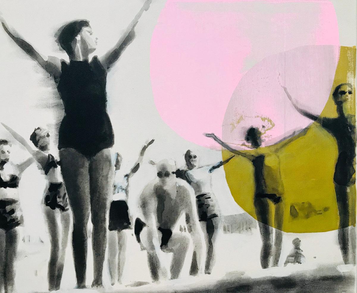 peinture artistique gymnastique