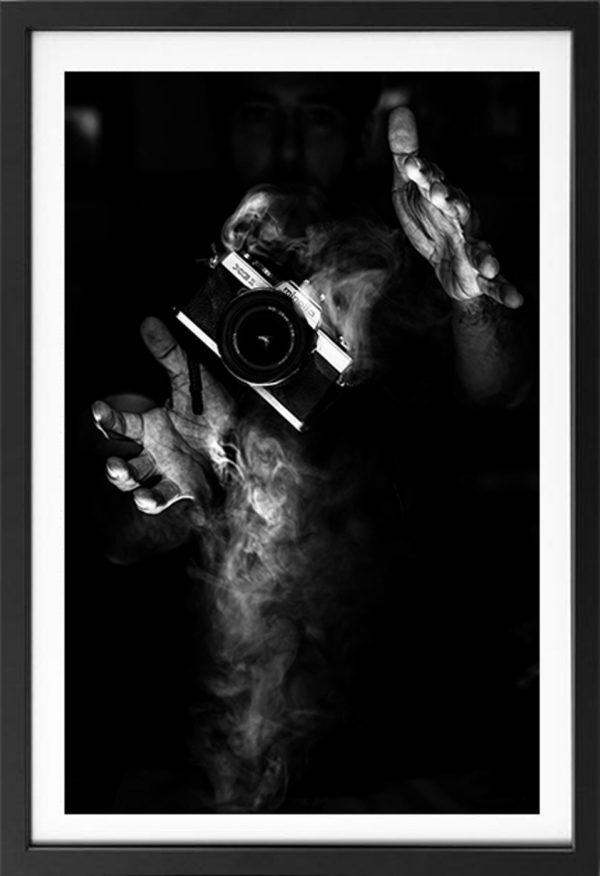 photo artiste noir&blanc