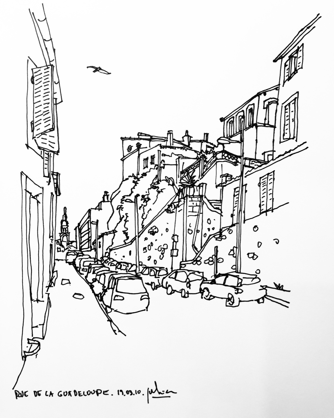 dessin marseille vauban