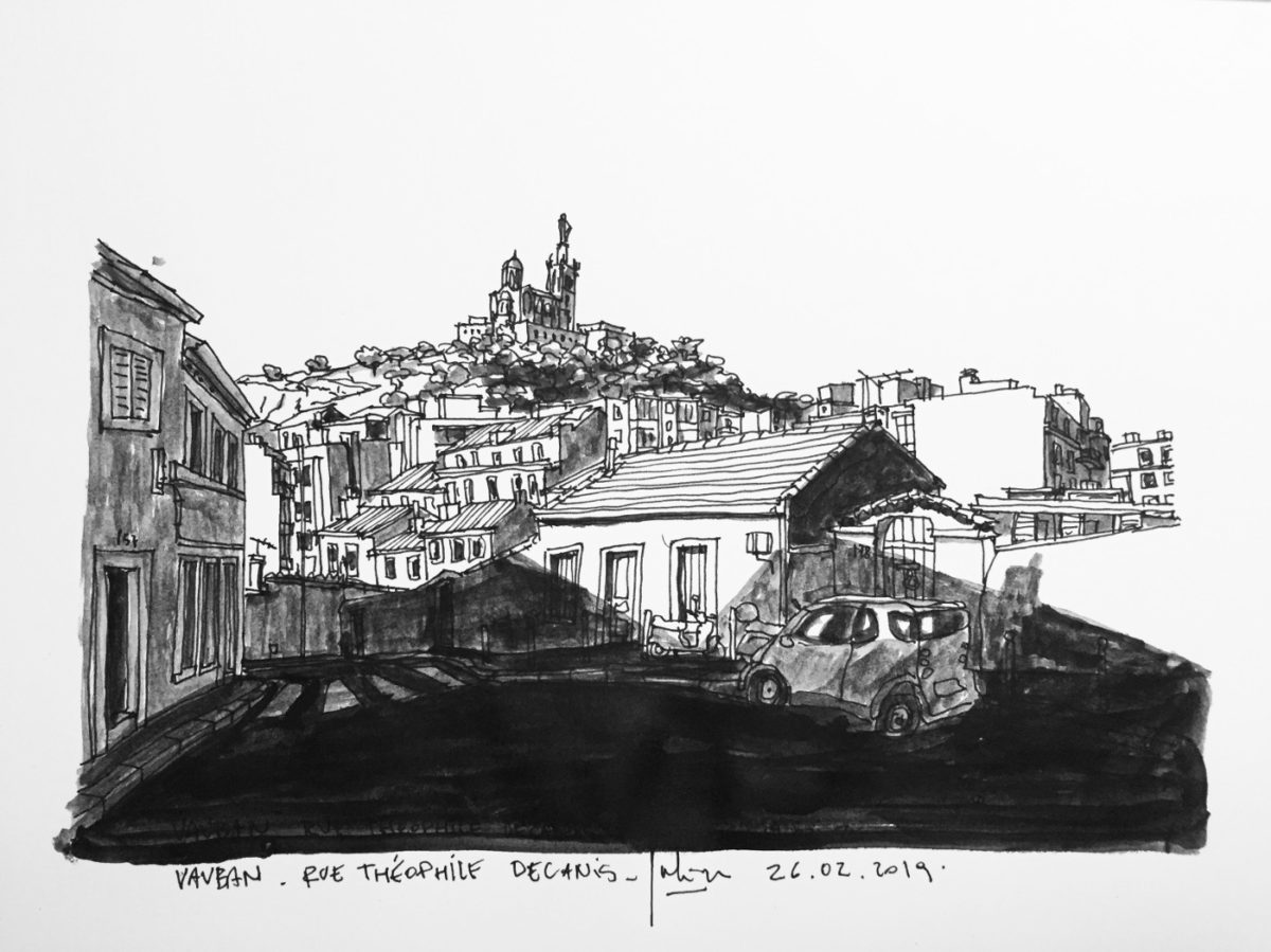 édition dessins marseille