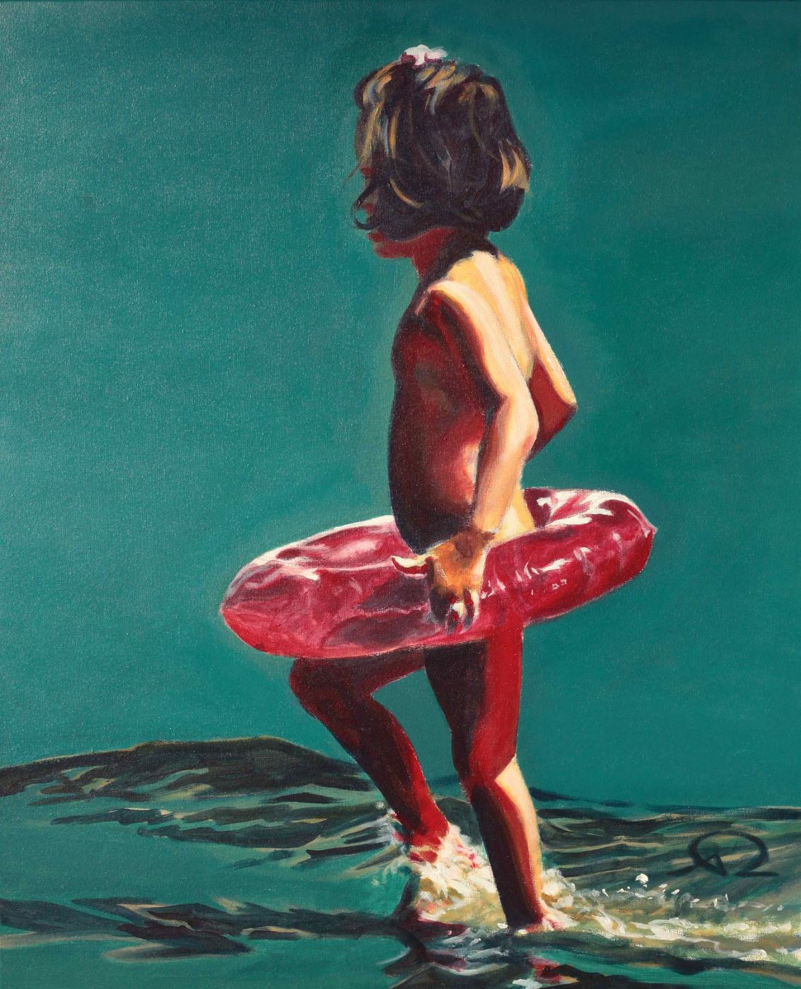 peinture enfant bouée