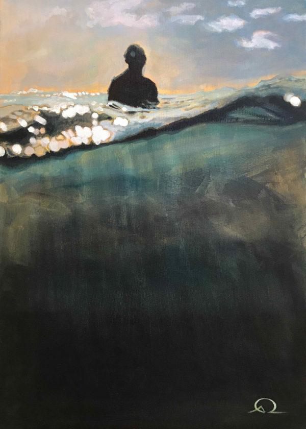 peinture ocean surf
