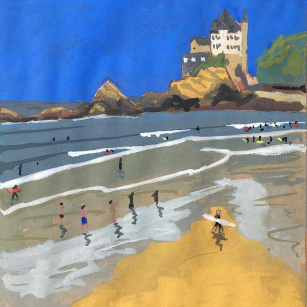 cote basque artiste
