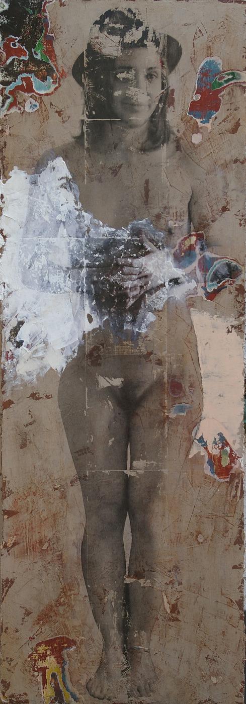 portrait nu femme