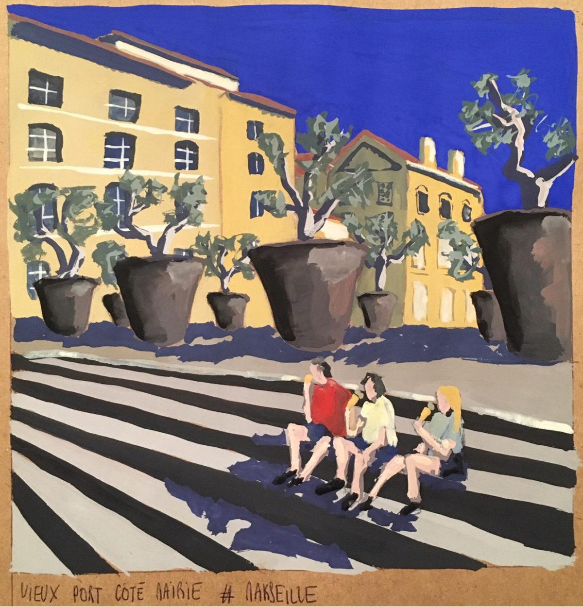 place des oliviers mairie marseille