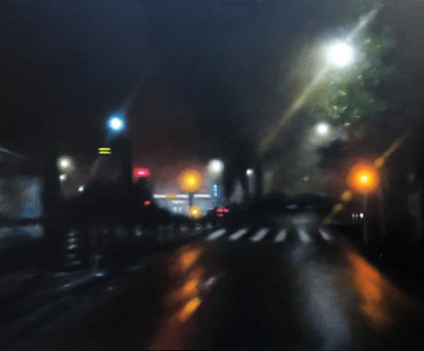 art nuit peinture