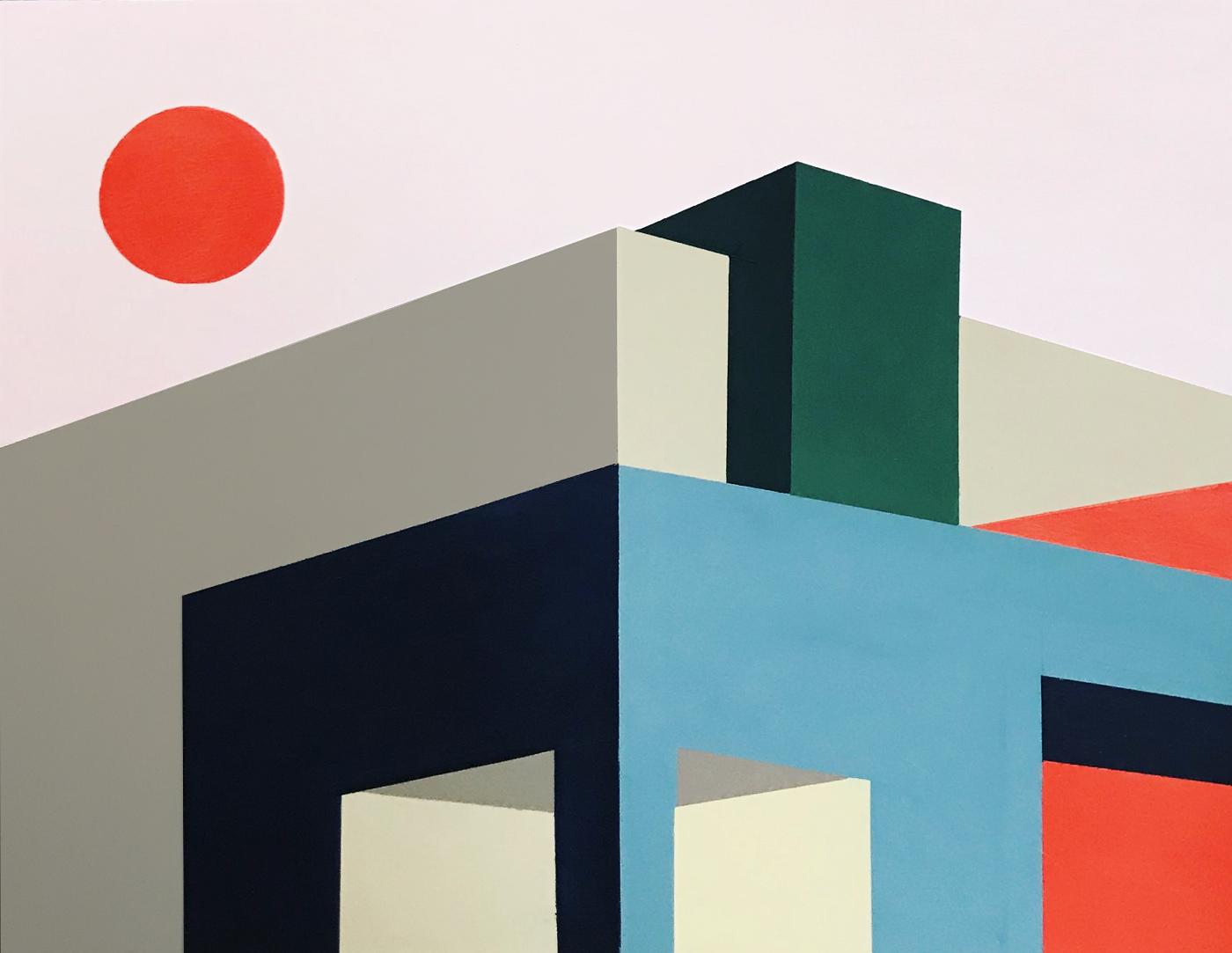 œuvres représentant des blocs