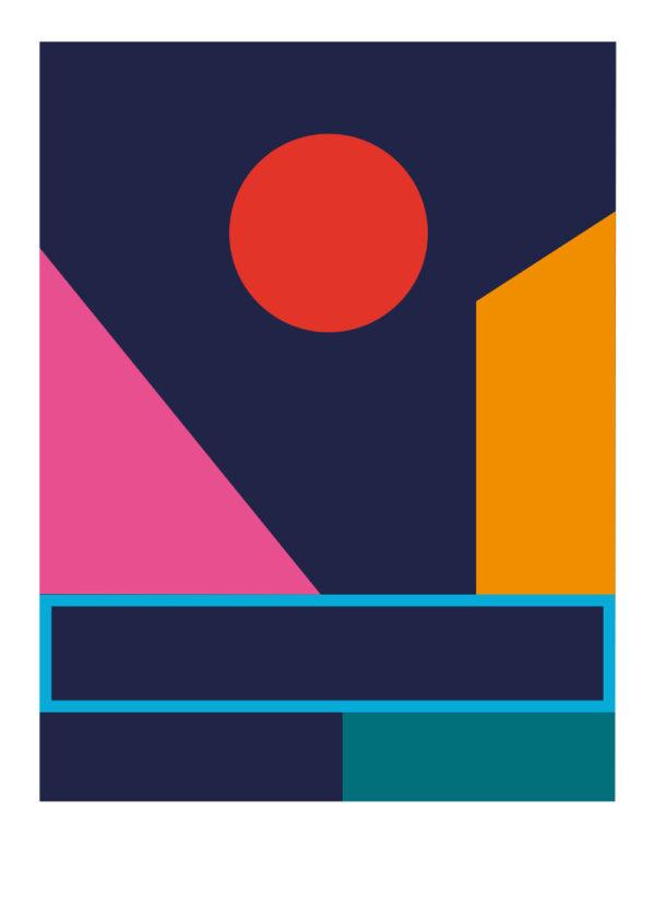 dietrich lyon serigraphie geometrie