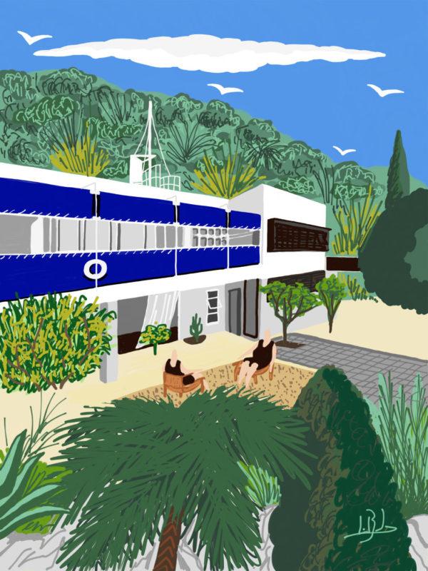 Eileen Gray villa E-1027